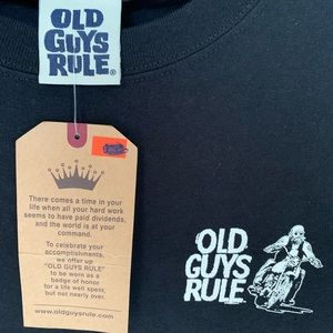 Old Guys Rule Shirts - NWT Old Guys Rule Long Sleeve T-shirt Mens Size M